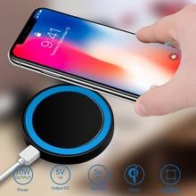 Pour Samsung Galaxy A3 A5 A7 2017 A8 A8 + Plus A6 2018 j5 J7 A9 chargeur sans fil chargeur chargeur Qi chargeurs récepteur étui en silicone