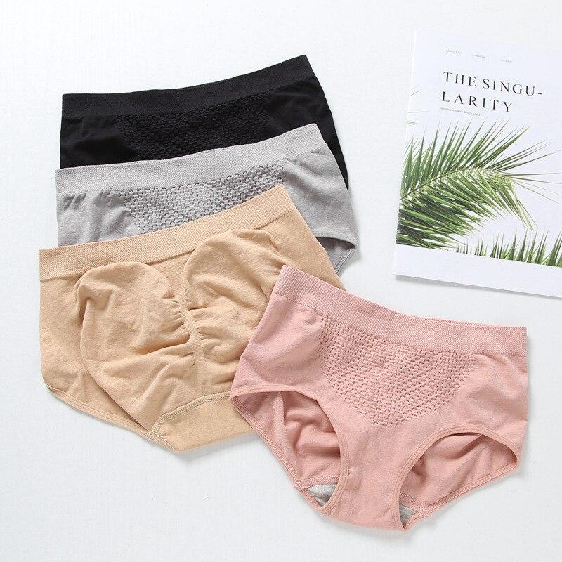 2019 nueva llegada 4 colores sólidos bragas de mujer ropa interior bragas Push Up Culotte de mujer