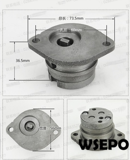 ¡Calidad del OEM! Conjunto de bomba de aceite para R175/R180 4 tiempos pequeño motor diésel refrigerado por agua