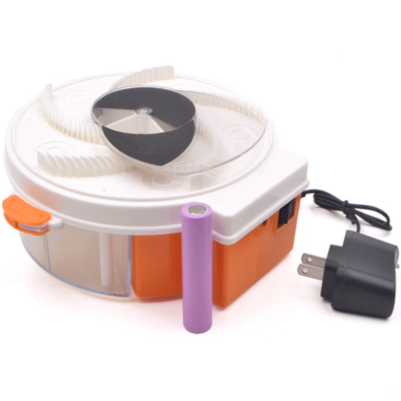 Efficie Electric Fly Trap Device With Trapping Food Pest Control Electric Anti Fly Killer Trap Pest Catcher Bug Insect Repellent недорого