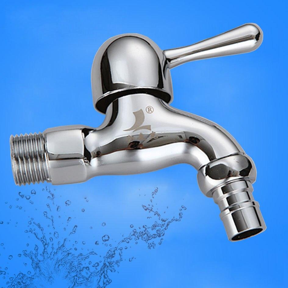 Envío Gratis lavadora grifo fregona grifo para bañera exterior montado en la pared grifo para agua fría sólo cobre puro bibcock 109