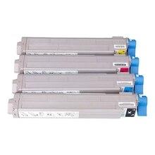 Compatible Color copier Toner cartridge Full Japan Powder for OKI C9600 C9800 C9650 cartridge toner copier toner