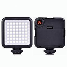 Hot Sale Mini W49 49pcs LED Video Light Camera Lamp Light Photo Lighting For Camera / Camcorder / Smartphone best price