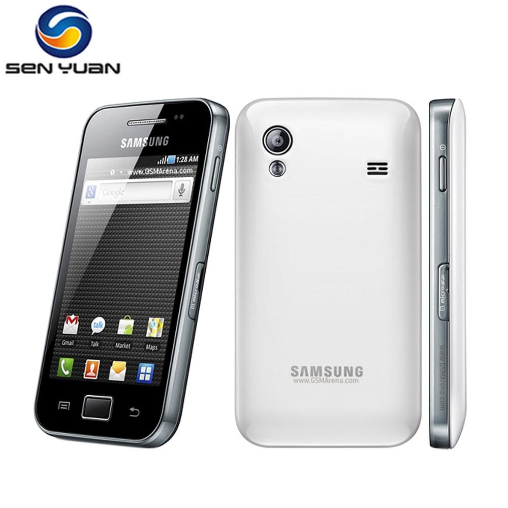 Unlocked S5830i Samsung Galaxy Ace S5830 Smartphone 3G Wifi GPS 5MP Camera Cell phone Free Shipping
