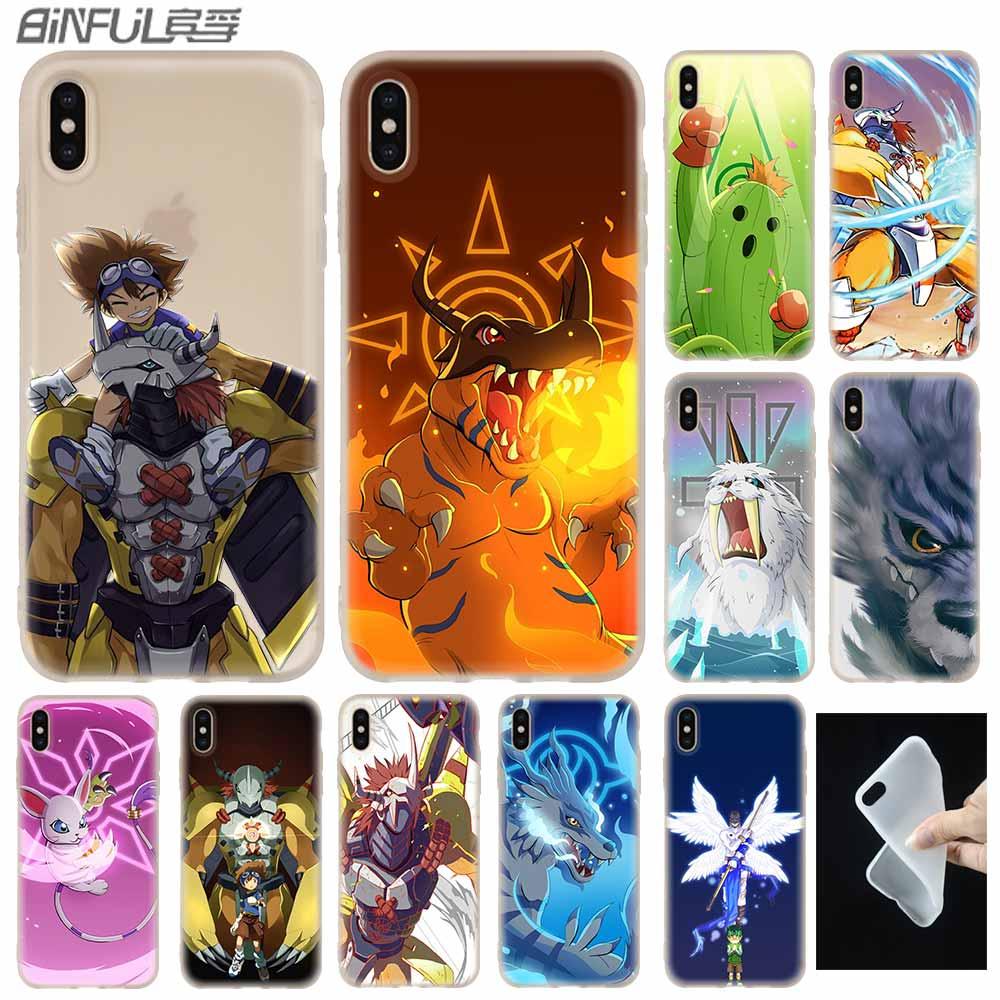 Digimon anime japonês capa de silicone macio para iphone x 11 pro xs max xr 6 s 7 8 plus 4 5S se telefone casos