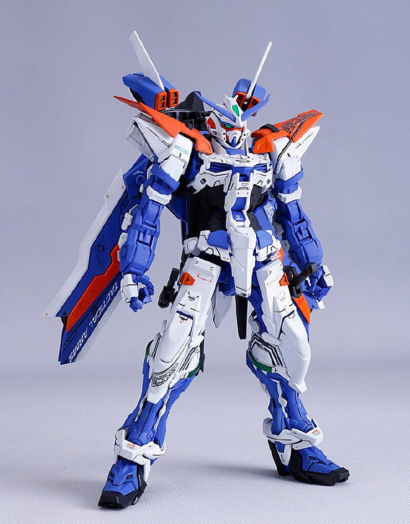 Dragon momoko Modelo 1 100 MG MBF-P03 camino marco azul tercer Gundam DL026