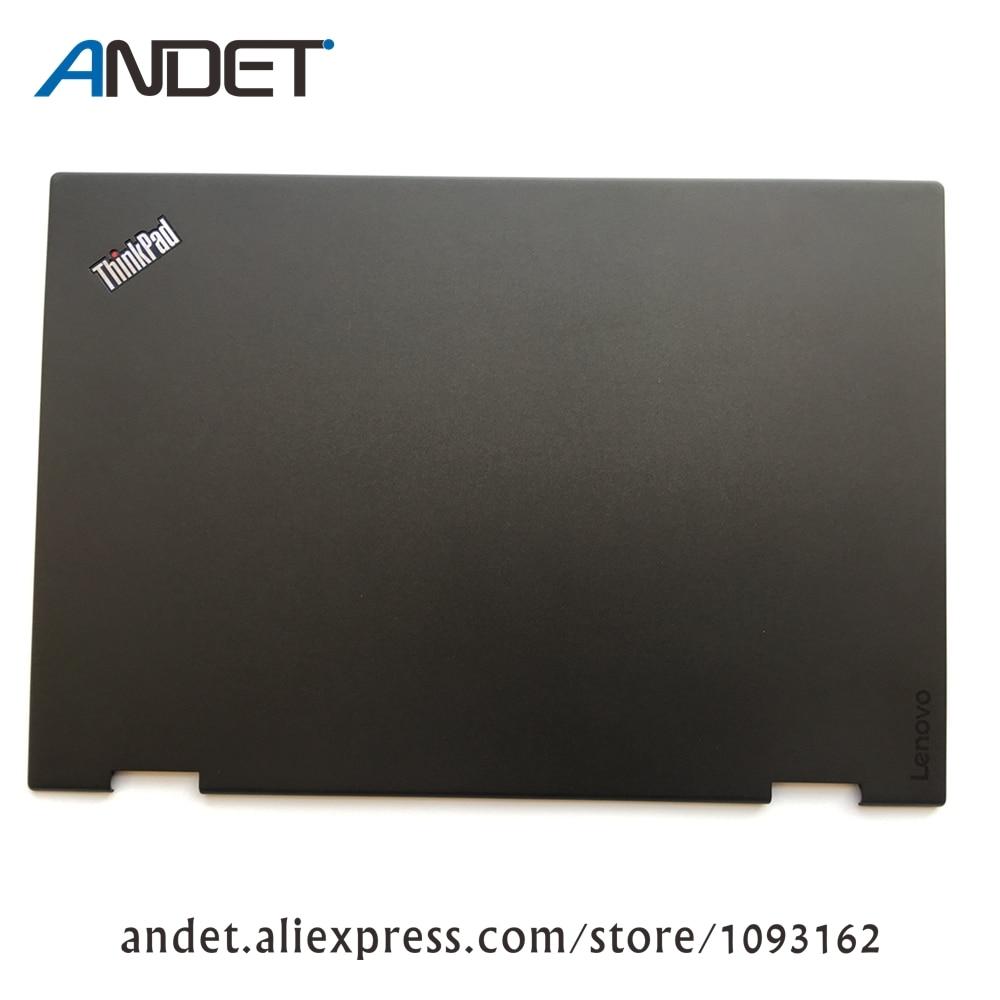 Lenovo ThinkPad X1 Yoga 1st 20FQ 20FR LCD غطاء خلفي جراب خلفي 460.04P04.0001 SCB0K40145 00JT848