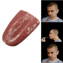 2020 hot horror funny magic tricks whole person false simulation tongue decompression toy Halloween prank