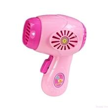 HBB enfants enfant garçon fille Mini cuisine appareil électrique sèche-cheveux jouet ensemble éducation précoce factice ménage semblant jouet