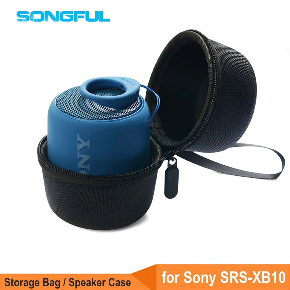 Чехол для портативного динамика чехол для Sony SRS XB10 Bluetooth колонки звуковая коробка сумка для хранения для Sony SRS XB-10/SRS-XB10 чехол