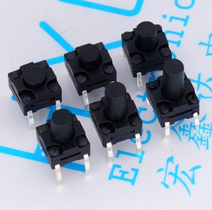 Interruptor Micro resistente al agua 150 Uds Interruptor táctil DIP 6*6*4,3/5/6/7/8/9/10MM máquina de lavado de leche de soja interruptor de botón de polvo