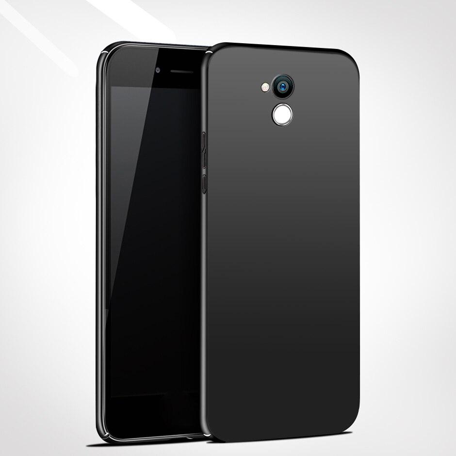 De Lujo estuche liso para teléfono para Huawei Honor 6 C 6C Pro estuches de plástico duro para Huawei Honor 6A caso Honor 6X cubierta Fundas