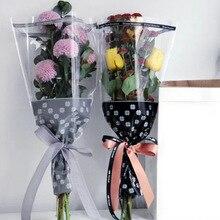 20 teile/los Blumen Verpackung Papier Geschenk Verpackung Papier Blume Kegel Halter Bouquet Hochzeit Dekoration Floristen Liefert