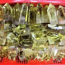 1 kg natural yellow crystal quartz crystal point tower single point quartz crystal obelisks treat crystal gems