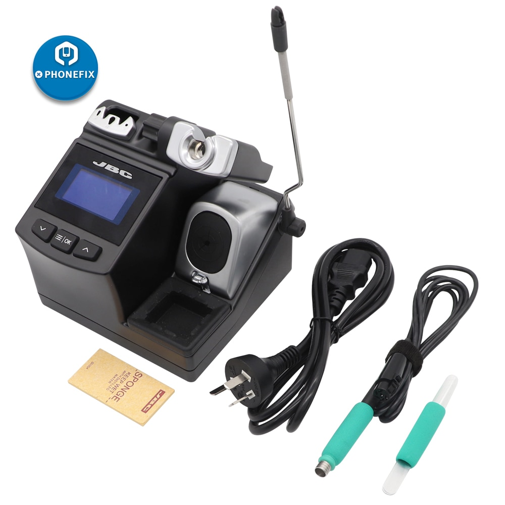 Original JBC CD-2SE soldering station Welding station with jbc T210 Precision Purpose Handle For Mobile Phone Motherboard Repair
