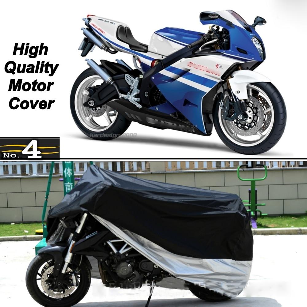כיסוי אופנוע סוזוקי RG500 UV עמיד למים אבק שמש/גשם מגן כיסוי עשוי מטפטה פוליאסטר