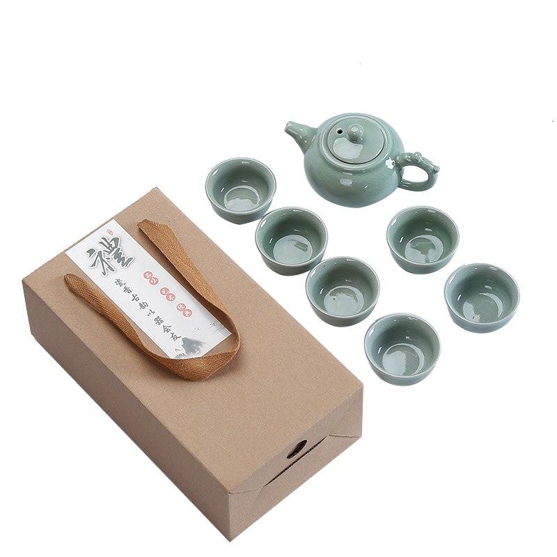 Juego de té de Kungfu de alta calidad, juego de té de China, taza de té de Kung Fu, juego de tazas de té de porcelana china