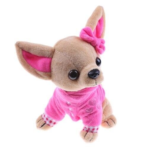 Stofftier Plüsch Hund Chihuahua Plüsch Spielzeug Kreative Gefüllte Puppe Simulation Spielzeug Kawaii Geschenk Für Kind und Mädchen