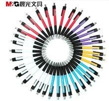 M & g abp88402 40 개/몫 프리미엄 0.7mm 에코-친화적 인 볼펜 우수한 쓰기 쉽게 그립 고품질 편지지