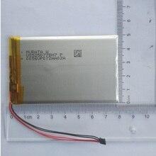 Batterij 3.7 V voor FIIO X5 X3 X7 I II Speaker Bateria Li-Polymeer Oplaadbare Accumulator Pack Vervanging 3600 mAh Track Code
