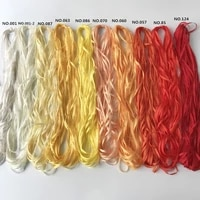 diy ribbon 4mm 50mtsroll 100 pure silk grosgrain ribbon solid color for embroidery designssoft hand feelfree shipping