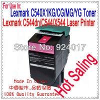 For Lexmark C544 C546 X544 X546 X548 Reset Toner CartridgeFor Lexmark C544X1CG C544X1KG C544X1MG C544X1YG 544 546 548 Toner