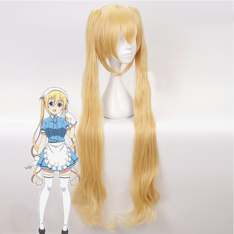Peluca de anime Cosplay mezcla S Kaho Hinata Hideri Kanzaki Mafuyu Hoshikawa Cosplay resistente al calor Peluca de pelo sintético