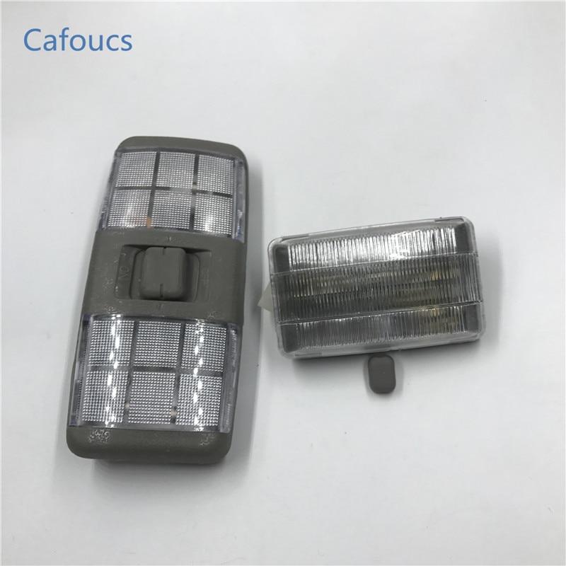 Cafoucs интерьер автомобиля свет чтения свет купол лампа для mitsubishi pajero montero shogun v31 v32 v33 V43 аксессуары