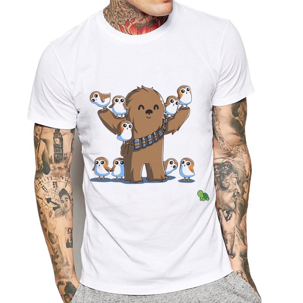 Новейшая летняя мужская футболка с креативным принтом монстра, модные мужские футболки с коротким рукавом, хлопковые базовые футболки, руб...