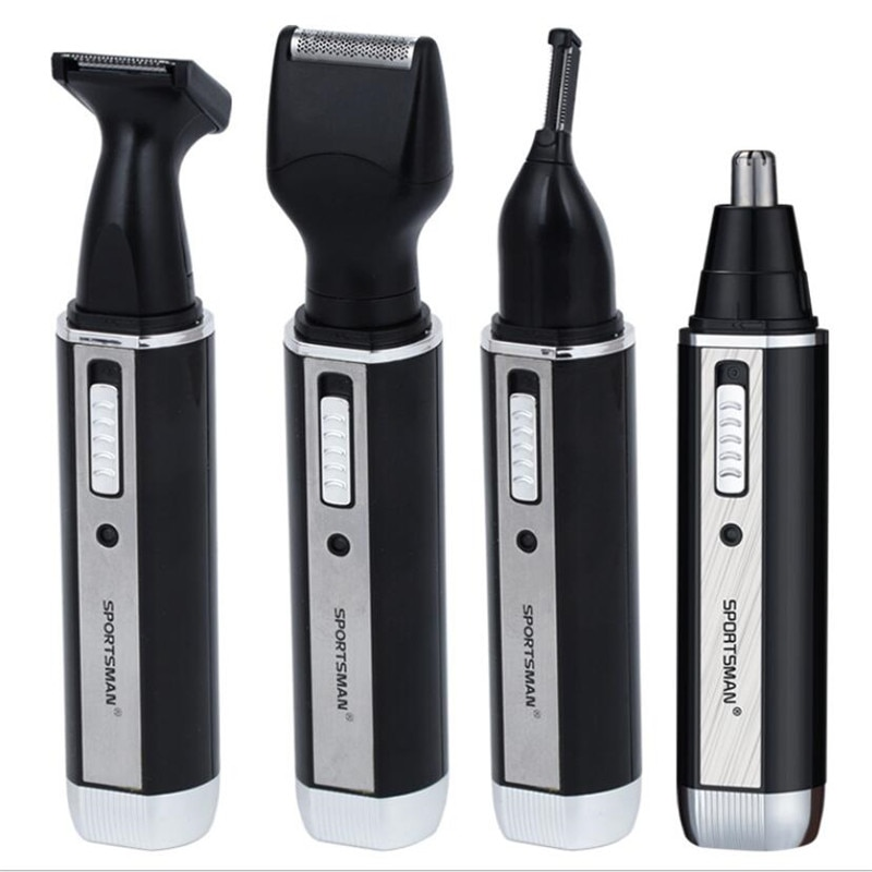 4 in 1 Man Grooming Kit Electric Nose Hair Trimmer Beard Shaver Razor Styling Clipper All in One Sideburn Haircut Shaver Machine enlarge