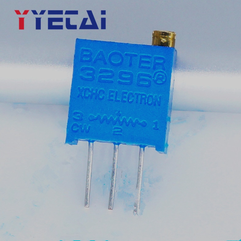 YongYeTai 3296W-102 1K precisión ajustable 3296 potenciómetro multigiro envío gratis