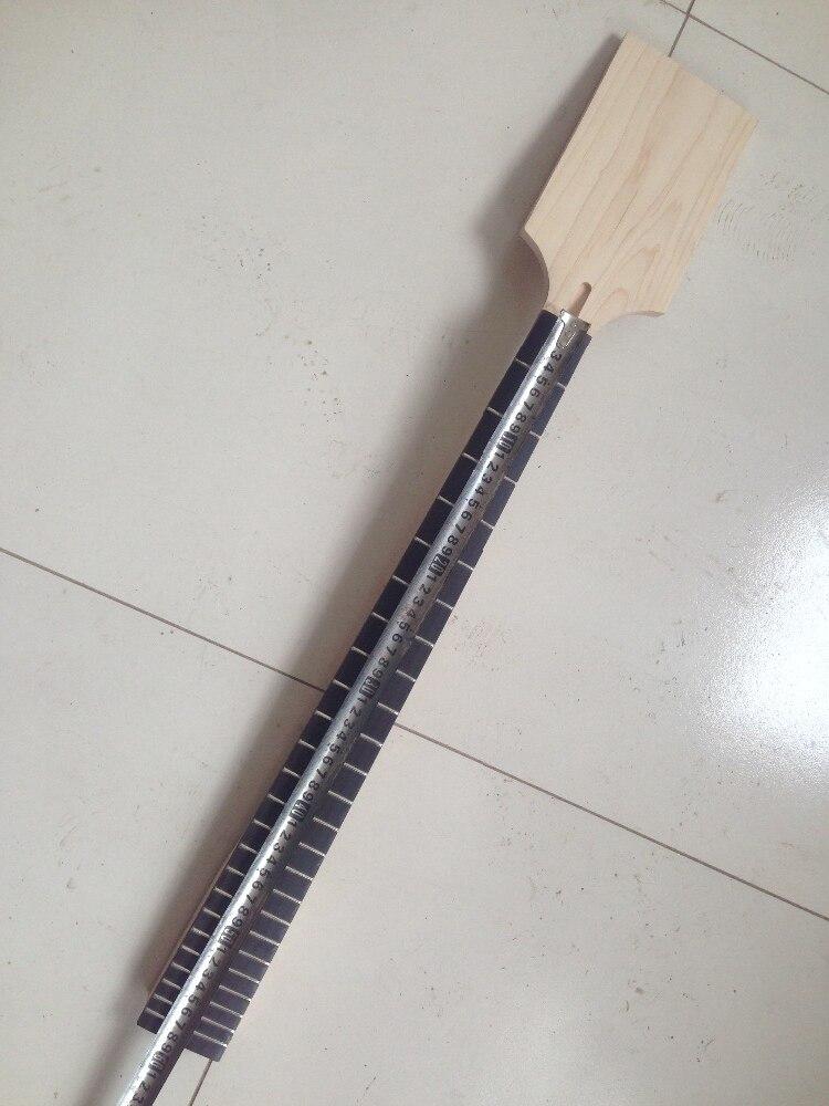 Cuello de guitarra eléctrica 24 traste madera de arce 30 pulgadas cabezal de paleta palisandro
