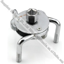 Трехногий двухсторонний масляный фильтр гаечный ключ 70 ~ 120 мм