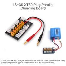 1-3 S XT30 Plug li-po batterie carte de charge parallèle JST câbles femelles pour IMAX B6 chargeur RC voiture Holicopter pièces de batterie