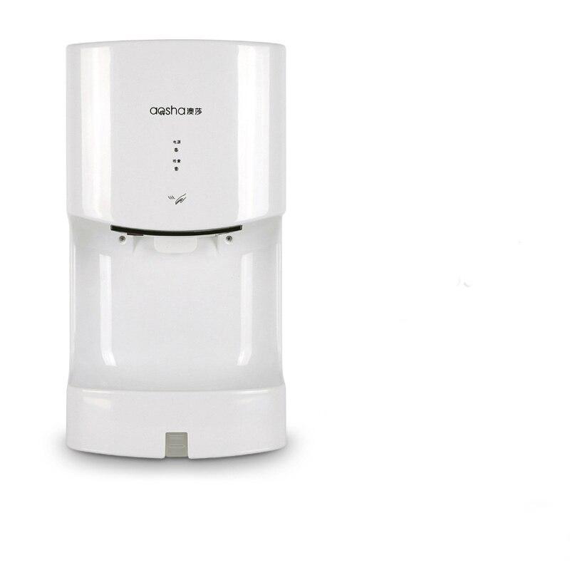 Secador de manos para baño, secador de manos automático con sensor infrarrojo, para soplar el teléfono, fácil instalación