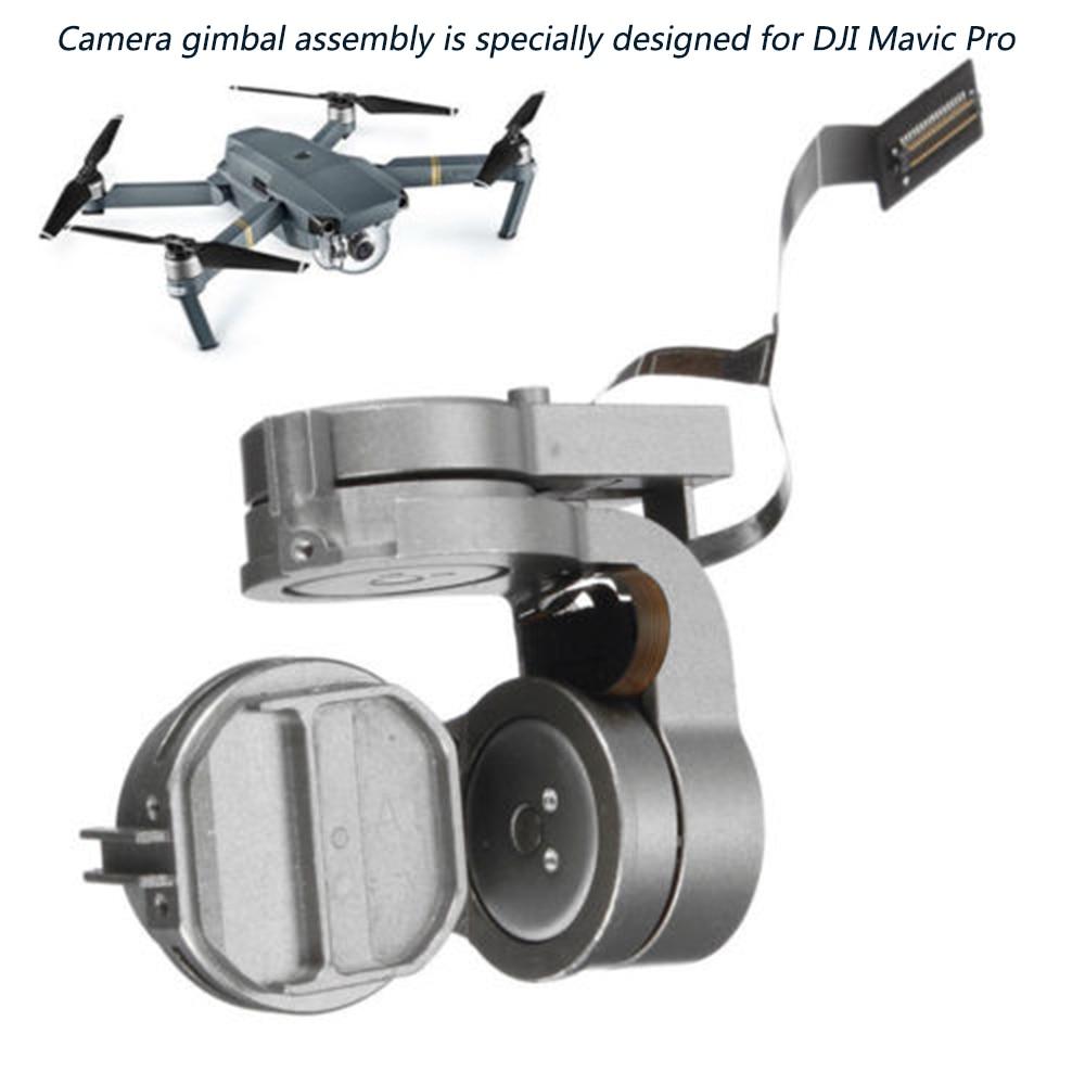 HD 4Kジンバルカメラ,オリジナルのスペアパーツ,フレキシブルケーブル付きジンバル,dji mavic pro rc fpv dji mavicproカメラレンズ
