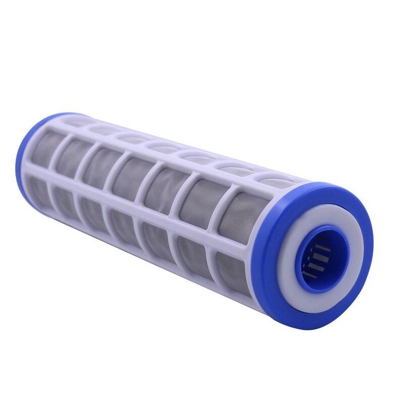 """10 """"Roestvrij Staal Gaas Filter Cartridge 40 Micron Waterzuiveraar Pre-Filter Kan Vullen Polyfosfaat Voor Schaal preventie"""