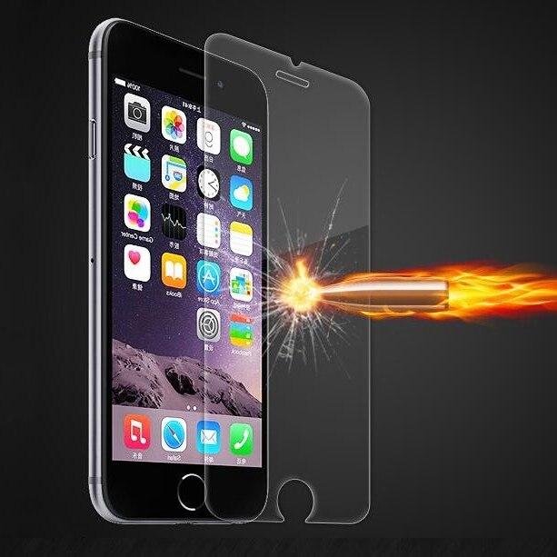 Para o iphone 7 8 plus x xs max xr protetor de tela de vidro temperado claro caso transparente para o iphone 6 s plus 11 4 s 5 5S se capa