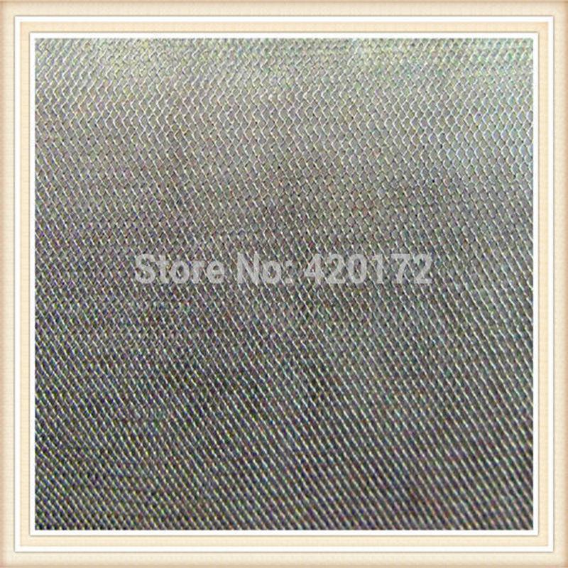 Горячая продажа 100% Серебряное волокно Ткань экранирования/Серебряное волокно проводящая ткань