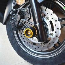 Acessórios da motocicleta eixo dianteiro slider bater pad guarda de para kymco centro 300i 350 xciting 300 xciting 250 xct