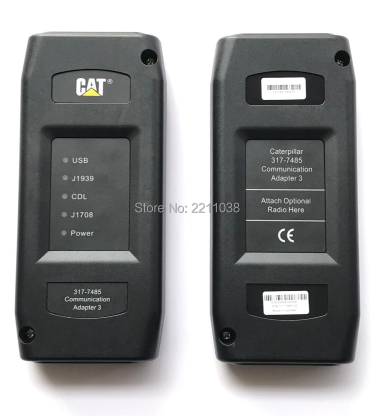 2020 Real CAT ET3 Adapter III 317-7485 2015a CAT truck diagnostic tool CAT III Communication Adapter III CAT3 without WIFI enlarge