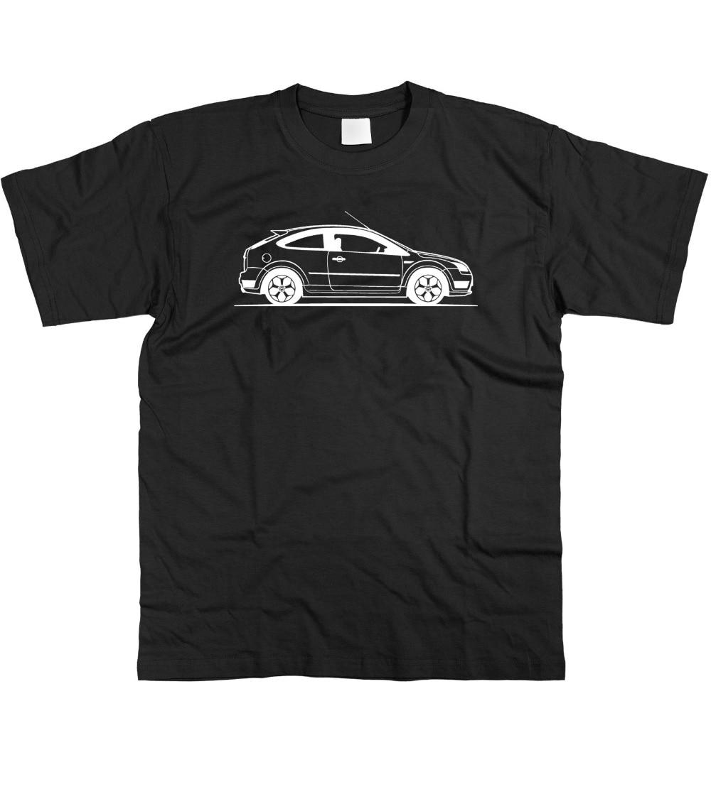 Mens Original Sketch American Car Fans Focus St T-Shirt S - 3Xl 2019 Summer T-Shirts For Men T Shirt Hot Sale Clothes Tee Shirts
