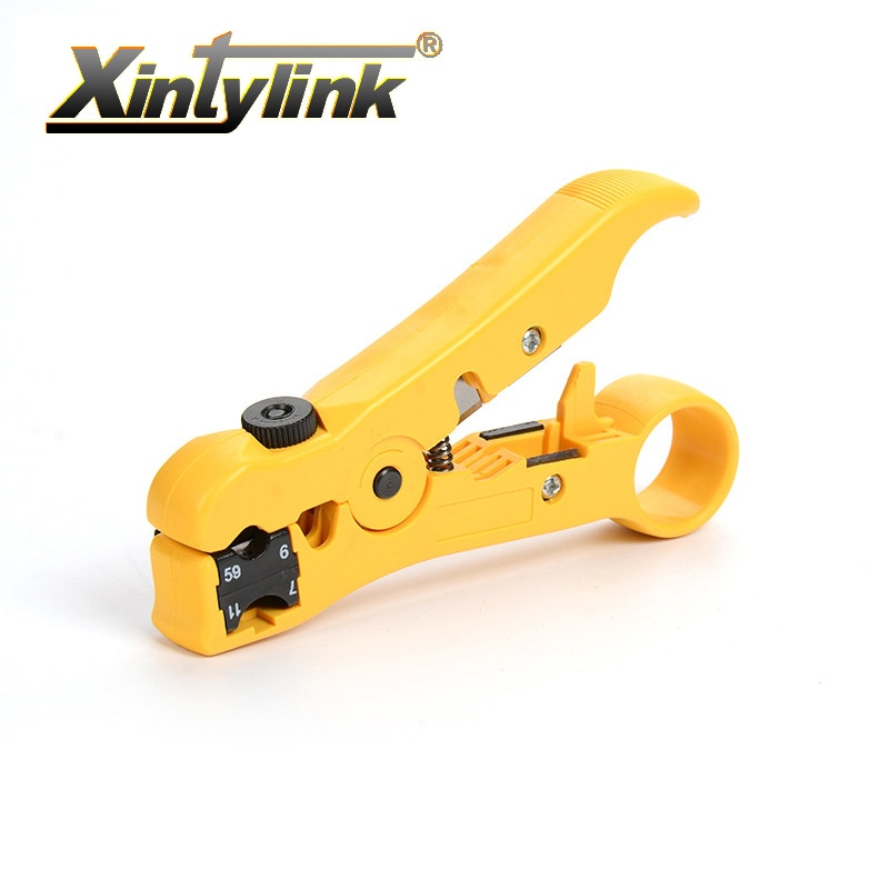 Плоскогубцы xintylink для сетевого инструмента, плоскогубцы, плоскогубцы с круглыми линиями utp rj45 cat5 cat6, инструмент для зачистки коаксиального кабеля