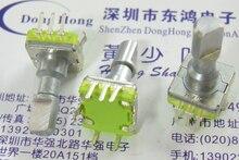 Interrupteur dencodage rotatif type EC11 LJV   5 pièces de haute qualité 30, positionnement du nombre 15, longueur de larbre dimpulsion 18mm, nombre DV de son