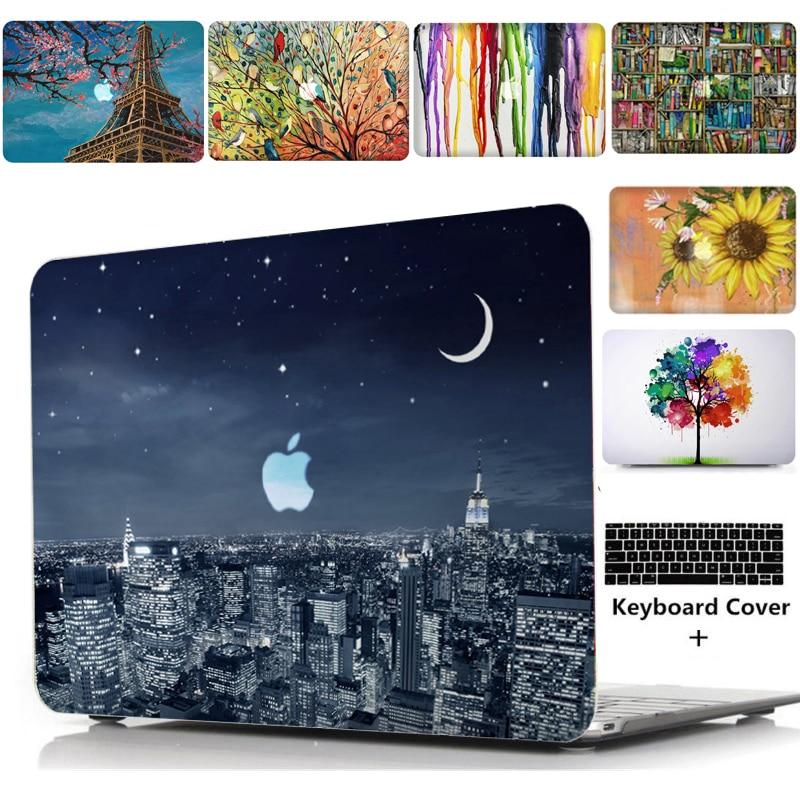 "Funda para laptop, notebook Tablet Shell cubierta de teclado bolsa Pad manga para 11 12 13 15 ""Macbook Pro Retina barra táctil aire A1466 A1369 T"