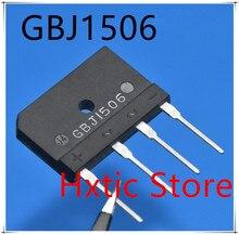 GBJ1506 GBJ 1506, nouveau, 5 pièces/lot, 15a, 600V, 15a, 600V