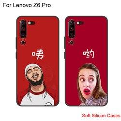 Чехол для Lenovo Z6 z6 Pro, силиконовый мягкий чехол-накладка для Lenovo Z 6 Pro, милый мультяшный рисунок, чехлы для телефонов LenovoZ6 Pro