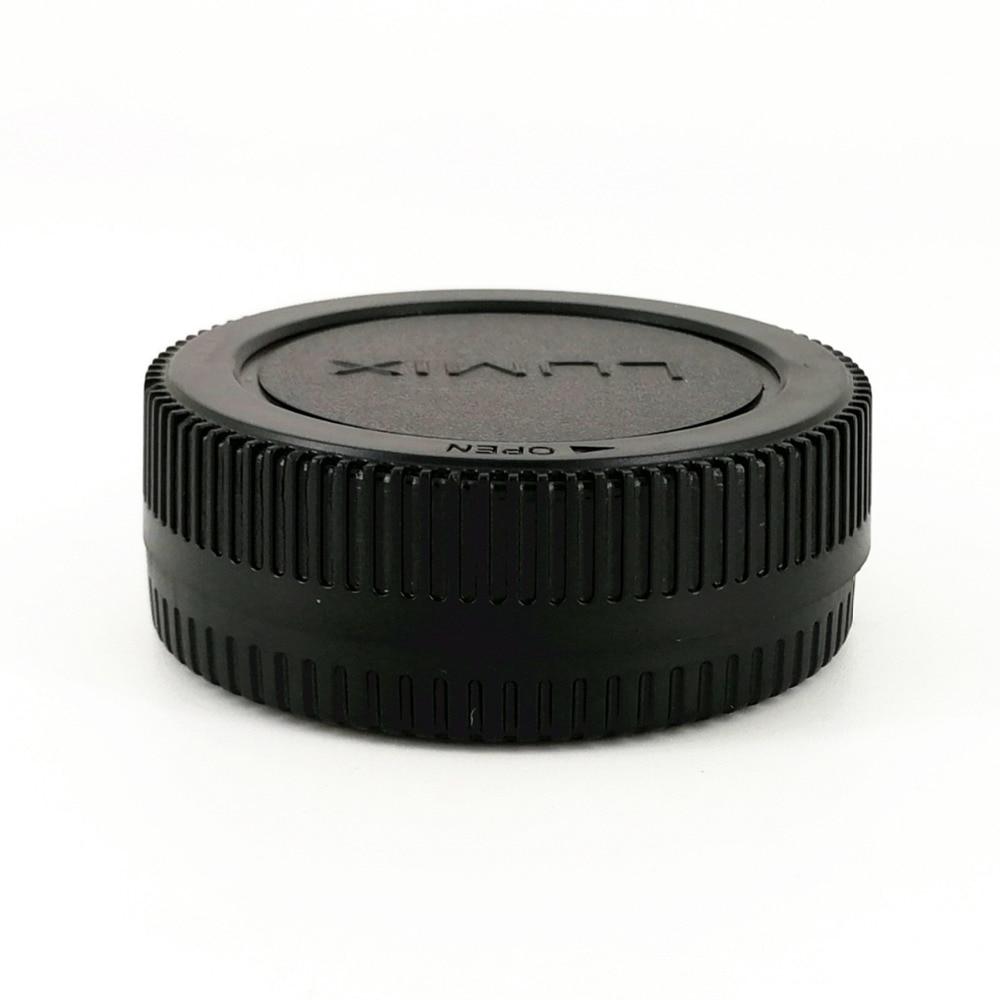 Rear Lens Cap Cover + Camera Front Body Cap for Panasonic Olympus Micro 4/3 M4/3 M43 MFT GH3 GH4 G6 G7 G9 GX1 GX7 GX8 GX80 GX85
