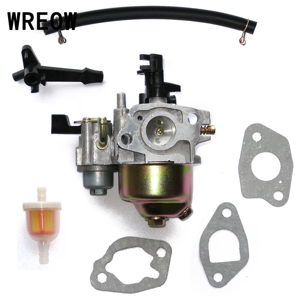 1 Juego de carburador Carb reemplazo Kit de herramientas ajuste para Mini 196CC 6.5HP 163CC 5.5HP MB165 MB200 accesorios de herramientas eléctricas para bicicleta