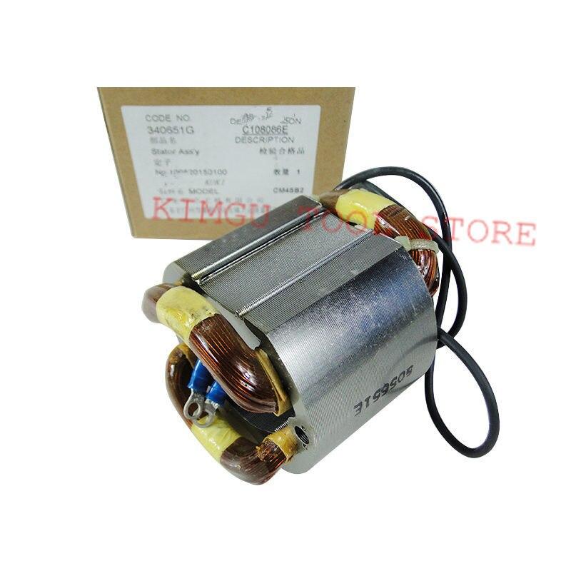 AC220V-240V 340651G 340651F Stator Field for Hitachi CM4SB2